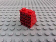 1 x RED LEGO MINIFIGURE SKIRT - FLAMENCO RUFFLES & BLACK DOTS PATTERN - LADY