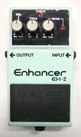 BOSS EH-2 Enhancer Guitar Effects Pedal 1996 #22 Free Shipping