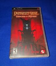 LOW PRICE NEW SEALED Dungeon Siege Throne of Agony Sony PSP 2 Manuals (ENG + FR)