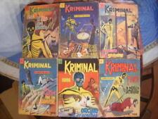 KRIMINAL 1 / 419 COLLEZIONE COMPLETA ORIGINALE - Editoriale CORNO, 1964 / 74