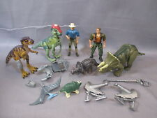 Jurassic Park Lot TRICERATOPS,PACHYCEPHALOSAURUS T-REX jp. 42 07 44 1997