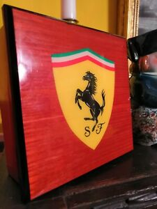 Ferrari Wooden Box