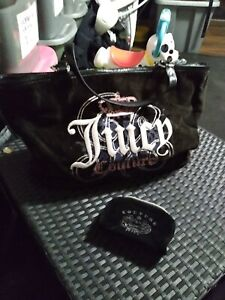 Large Juicy Couture Tote With Small Pouch