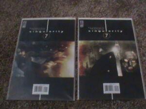 SINGULARITY 7 #1-7 IDW Comics (2004). All High Grade.
