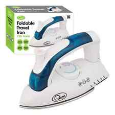 FOLDABLE FOLDING COMPACT STEAM TRAVEL IRON MAINS DUAL VOLTAGE EASY GLIDE 750W