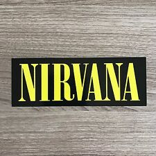 "Nirvana 5"" Wide Vinyl Sticker - BOGO"