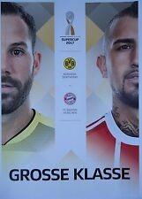 Programm Aufstellung Statistik Supercup 2017 Borussia Dortmund Bayern München #2