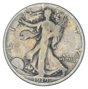 1919-D Walking Liberty Half Dollar - Charles Coin Collection *047