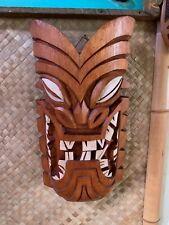 New 2019 Lawai'a Tiki Mask by Big Toe and Smokin' Tikis Hawaii