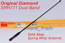 Original Japan Diamond SRH771 Dual-Band Flexible Antenna SMA-Male for Yaesu ICOM