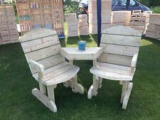 Heavy Duty Garden Seats, Love Seats, Companion Seat *NO Self Assembly required*