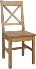 Pine Dining Room Chairs with 4 Pieces