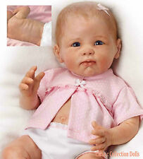 "Ashton Drake ""PRECIOUS KAYLEE"" LIFELIKE POSEABLE BABY GIRL DOLL-NEW-IN STOCK NOW"
