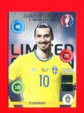EURO FRANCE 2016 - Adrenalyn Panini - Card Limited Edition -IBRAHIMOVIC- SVERIGE