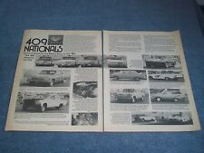 1976 409 Chevy Nationals Race Event Highlights Vintage Article Impala