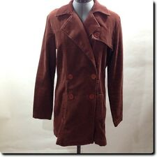 Juicy Couture Brown Corduroy Coats Jacket Outerwear L