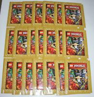 Lego Ninjago Legacy Sticker - 20 Tüten / 100 Sticker - Neu & OVP