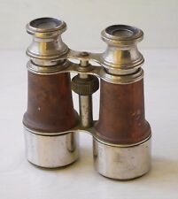Vintage Collectible Retro Large Adjustable Metal Binoculars Branded JUPITER