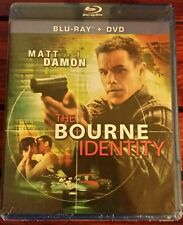 The Bourne Identity (Blu-ray/DVD, 2010) Matt Damon *NEW* SHIPS FAST Mon-Sat!