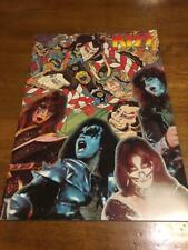 Kiss Tour Book 1977 Japan Program Pamphlet F/S Rare Book Retro Limited W/T Music