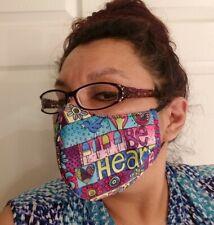 Face Mask Washable colorful Print make Usa