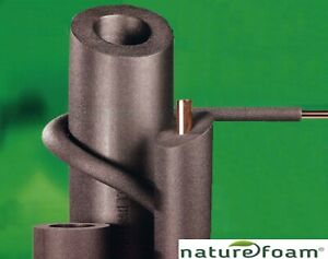 Genuine Climaflex 15, 22, 28mm Pipe Insulation Lagging 9, 13, 19, 25mm thick