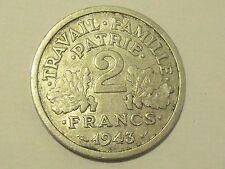 2 Francs 1943 B