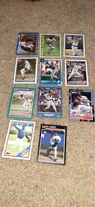 Chicago Cubs Lot of 11 Baseball Cards