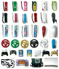 Nintendo Wii & U Or GameCube Remote Controller Or Nunchuck Or Steering Wheel OEM