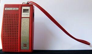 National Model R1016 6-Transister Pocket Portable Radio Panasonic Matsushita