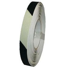"""Antirutschband 19mm x 18m schwarz gelb nachleuchtend """"Glow-in-the-Dark"""""""