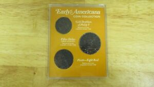 Early Americana Coin Collection 3pc Set In Case