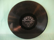Ernest Tubb, Kansas City Blues / The Woman's Touch, Decca 29415, 78 RPM, Country