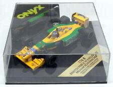 Coches de Fórmula 1 de automodelismo y aeromodelismo Benetton Ford