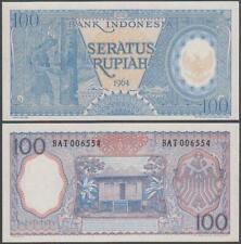 Indonesia, 100 Rupiah, 1964, UNC, P-98