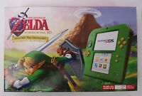 Nintendo 2DS Link Edition w The Legend of Zelda: Ocarina of Time 3D Game In Hand