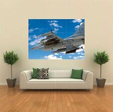 F16 FALCON FIGHTER JET PLANE NEW GIANT ART PRINT POSTER PICTURE WALL G126