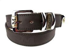 Cinturones de hombre marrones Milano
