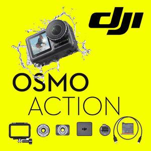 DJI Osmo Action Digital Sports Camera Waterproof Dual Screen 4K Stabilised Cam