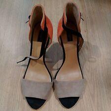 Zara Strappy, Ankle Straps Slim Heel Shoes for Women