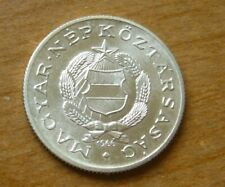 1966 Hungary 1 Forint Silver Coin Unc