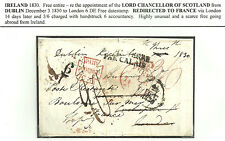 Libre tout dublin 1830 à londres redirigé vers la france le chancelier de l'écosse