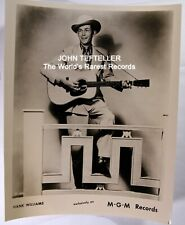 ORIGINAL 1950's 8x10 Publicity Photo Hank Williams Rock