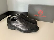 Rockport Leather Smart Lace Up Shoes Size 41 Uk 7 Vgc Boxed