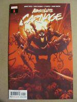 Absolute Carnage #1 Marvel Comics 2019 Series 1st Print Spider-Man Venom 9.6 NM+