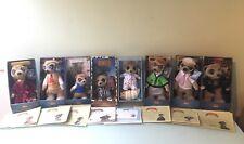 8x Meerkat toys Compare the Market New Boxed Certificate Aleksandr Yakov Oleg