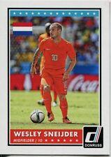 Donruss Soccer 2015 Var. Base Card #36 Wesley Sneijder