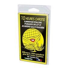 Plaquette anti Punaises de lit et acariens pour Literie efficace a 100