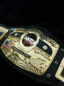 NWA DOME GLOBE WORLD HEAVYWEIGHT WRESTLING CHAMPIONSHIP BELT 4mm ZINC Title