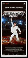 Cartel El Fiebre De Sábado Noche Saturday Night Fever John Travolta L100